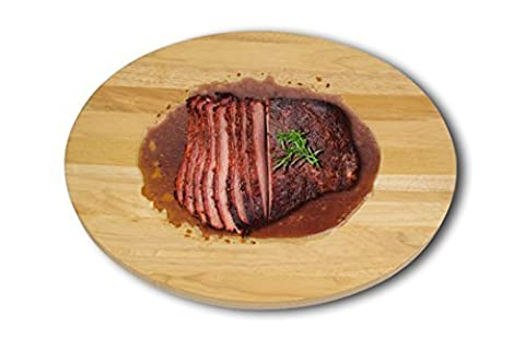 Architec Gripperwood Concave Cutting Board, Brown by Architec