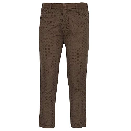 Gini & Jony Baby Boys' Regular Fit Trousers (121246511132 C252_Coffee Liqueur (C252)_18-24 Months)