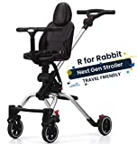 R for Rabbit Rover Compact Fold Baby Stroller - NextGen Traveling Friendly Stroller