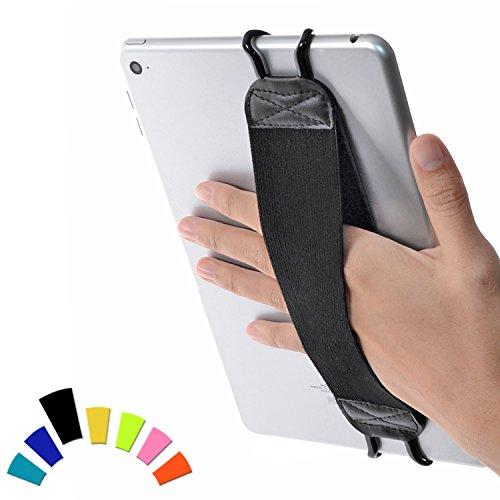 """Preisvergleich Produktbild TFY Sicherheits Handband-Halterung für Tablets & iPads - Apple iPad,  iPad 4 (iPad 2 & 3),  iPad Air (iPad Air 2),  iPad Mini - iPad Pro 9, 7"""" - Samsung Galaxy Tab - Google Nexus und Andere (Schwarz)"""