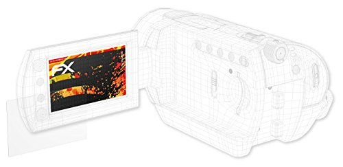 Galleria fotografica Eken H9s Protezione Pellicola dello Schermo - 3 x atFoliX FX-Antireflex-HD ad alta risoluzione antiriflesso Pellicola Protettiva Pellicola Proteggi