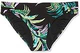 Seafolly Damen Bikinihose Las Palmas Ruched Side Retro, Schwarz (Black), 40 (Herstellergröße: 14)