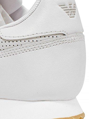 Da Bianco Uomo Armani Jeans Basso 9350277p423 Ginnastica Scarpe qZExxSfO