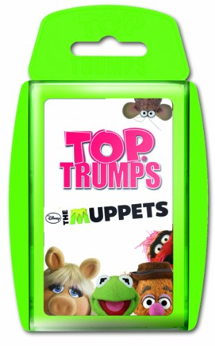 Winning Moves 61243 - Top Trumps - Die Muppets, Kartenspiel