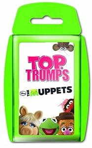 Winning Moves - Juego de Cartas The Muppets Barrio Sésamo, 2 Jugadores (versión en alemán)