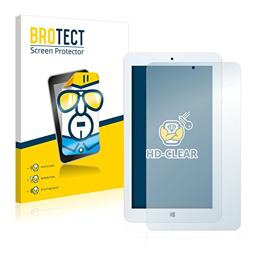 BROTECT HD-Clear WinPad 7.0 W700 2-in-1 Bildschirmschutzfolie (Mediacom, WinPad 7.0 W700, Kratzfest, transparent)