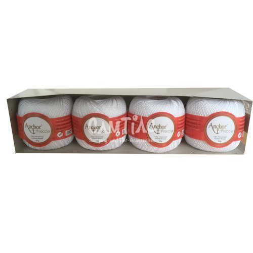 anchor-freccia-4-x-50g-staerke16-colore-7901-weis
