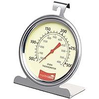 Master Class Kitchencraft Termómetro para Horno 50º a 300ºc, Acero Inoxidable, Plateado, 11x17.3x4 cm