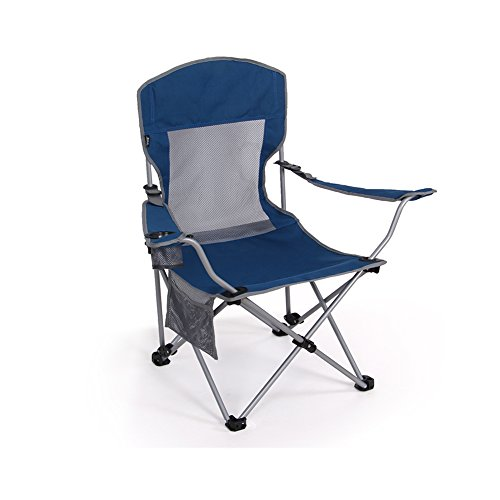Outdoor Portable Folding Chair Fishing Beach Camping Chair Two Adjustable High Oxford Cloth Back...