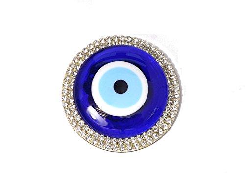 Wanddeko Wandschmuck Deko aus Glass - Nazar Boncuk Türkisches Auge - Glücksbringer Amulett Talisman