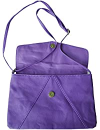 TOOGOO(R) New 2015 Fashion Women's Envelope Bag Leather Messenger Bags Handbag Shoulder Crossbody Cross Body Bags...
