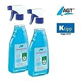 AGT Enteisungsspray: Scheibenenteiser Doppelpack, 2 x 500 ml (Scheibenfrostschutz)