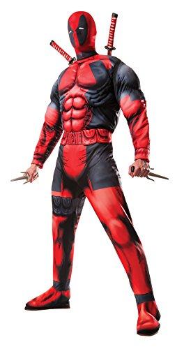Disfraz Deadpool Deluxe Ad (Rubies 810109)