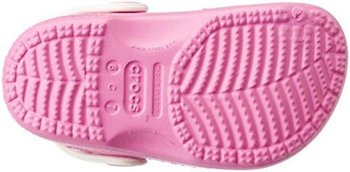 Crocs CC Frozen Fever Clog G Sandali a Punta Chiusa, Bambine e Ragazze Rosa (Party Pink/Oyster)