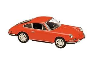 Solido - 143 015 00 - Véhicule Miniature - Porsche 1964 - 912 Coupé Rouge