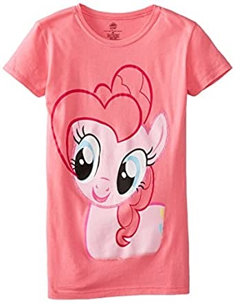 Freeze My Little Pony The Princess Pinkie Pie Youth Hot Pink T-Shirt (Youth Small)