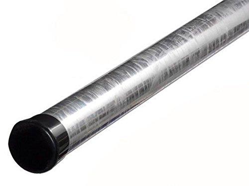 1m Antennenmast - xm-line ROK60/1000,H:100cm Ø:60mm feuerverzinkt rostfrei mit Mastkappe