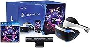 نظارة واقع افتراضي مع كاميرا ولعبة في ار وورلدز لجهاز الالعاب Playstation من سوني