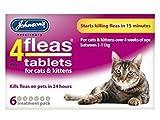 Johnson's Vet - 6 compresse antipulci per gatti, 2 confezioni