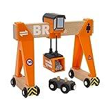 BRIO World 33732 - Container-Verladekran