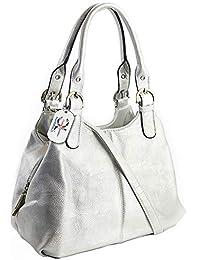 3e69af4e21 Craze London Multiple Pockets Medium Size Hobo Handbag Long Strap Shoulder  Bag Cross body bag for