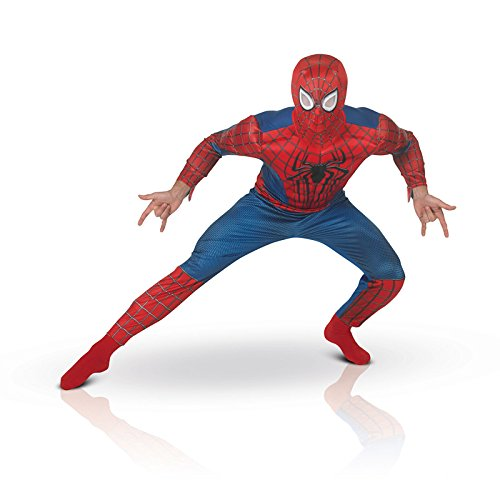 Spiderman Amazing Kostüm 2 The - Unbekannt Aptafêtes - cs922911/XL - Kostüm luxe - The Amazing Spiderman 2 - Größe XL