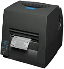 Citizen CLS-S631, DESKTOP THERMAL PRINTER, 300 DPI, USB & SERIAL STANDARD, ETHERNET, GRAY, CUTTER CL-S631-E-GRY by Citizen