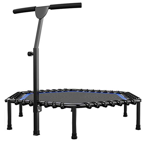 Boden Trampolin Outdoor Indoor Bungee Sport Jumping Trampolin-Sprungbett mit Griff-Körperskulptur-Aerobic-Prahler abnehmbare Armlehne-Sport-Gewicht-Verlust-Gerät