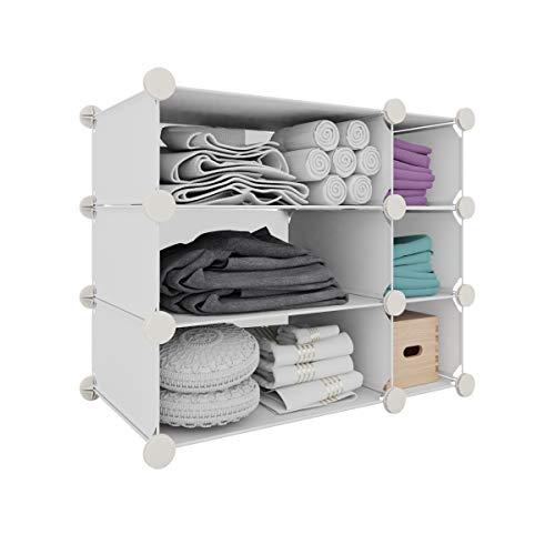 Inxact Design étagère de rangement pour chaussures, blanc, 3-tier