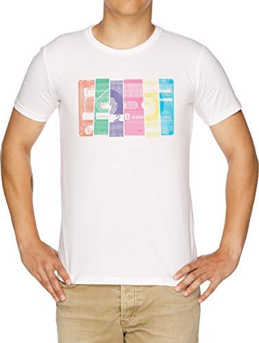 Mischen Band 10 Herren T-Shirt Weiß