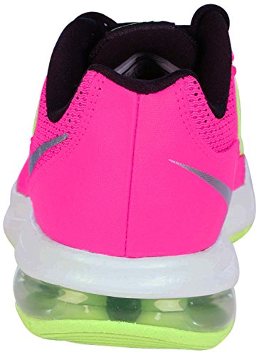 Nike Air Max Dynasty (Gs), Chaussures de Course Fille Rosa (Hyper Pink / Metallic Silver-White-Black)