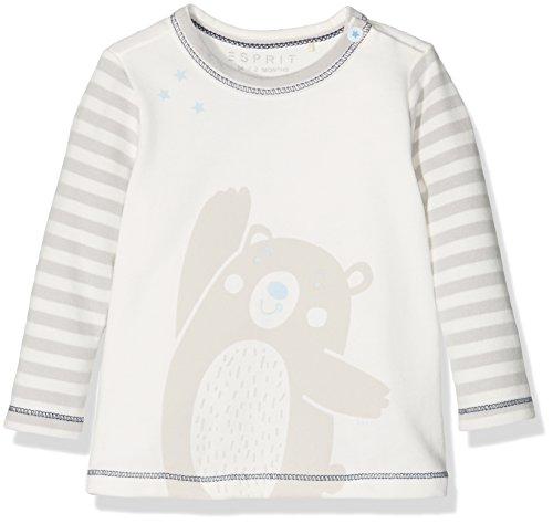 Esprit Kids Unisex Baby T-Shirt, Elfenbein (Ecru 112), 68