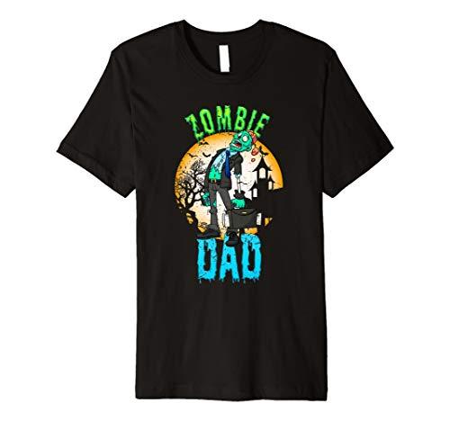 Zombie Dad T-Shirts für Halloween Party Kostüm für Papas