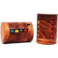 Revolve - Kugelpuzzle aus Holz - Zauberwürfel 2.0 - Drehpuzzle - Denkspiel