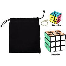 3x3x3 mágico cubo Ninos Educacion Herramientas Magic cube Juego de Puzzle cube Speedcube,Cubo Màgic llaveros mini