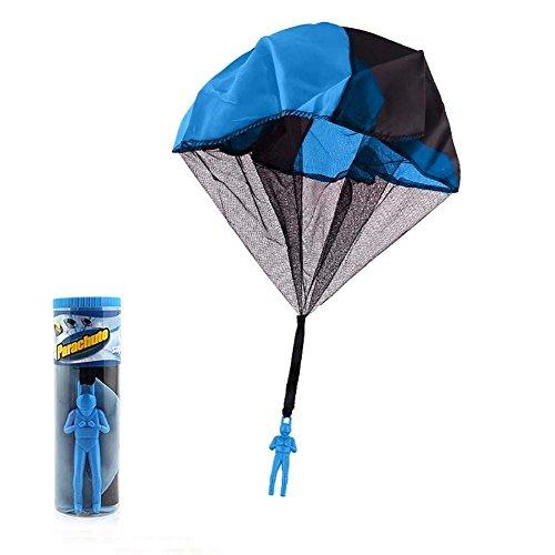 Handwurf Fallschirm - Hand werfen Drop Mini Fallschirm fliegen Ball Flugzeug, Kid Spielzeug Outdoor-Sport-Spiel, 1st