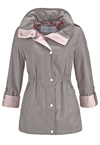 jessica-simpson-giacca-opaco-donna-taupe-rose-xl