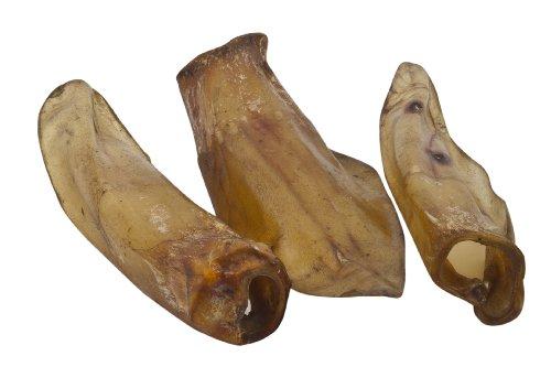 EcoStar Hunde Snack Rinderohren 50 Stk., 1er Pack (1 x 90 g)