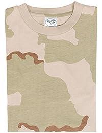T-Shirt 3col. Camouflage Desert