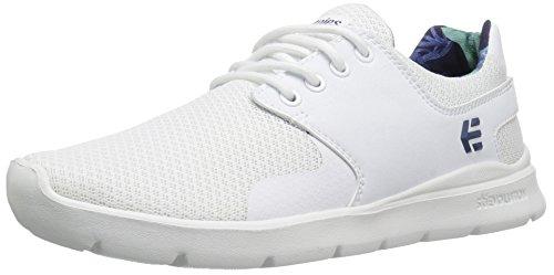 Etnies Scout Xt Wos, Chaussures de Skateboard Femme Blanc (White)