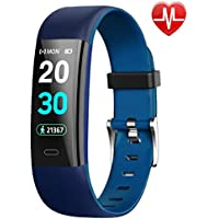 Updated 2019 Version Fitness Trackers, Activity Trackers Smartband Wristbands Waterproof Smart Watch with Heart Rate and Sleep Monitor, Calorie Counter, Step Counter, Pedometer for Kids Men and Women