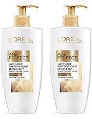 L'Oréal Age Perfect Lait Hydratant Raffermissant Corps & Jambes 250 ml - Lot de 2
