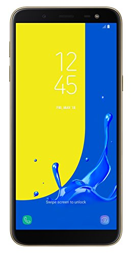 Samsung Galaxy J6 2018 32 GB UK SIM-Free Smartphone, Gold, UK Version