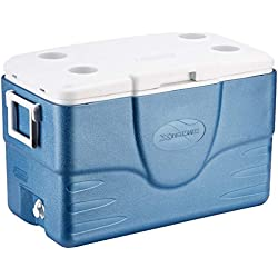 Coleman 52QT Cool Box Xtreme, Multicolor (Azul/Blanco), 49 litros