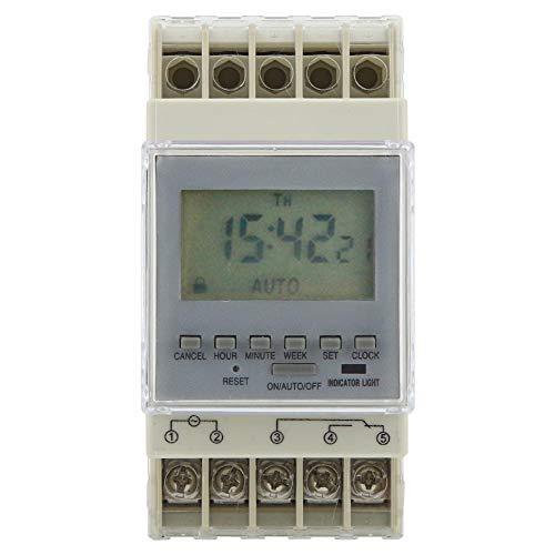 Zeitrelais Mikrocomputer - Zeitschalter Solarregler Spannung Digital: 220V-240V 16A