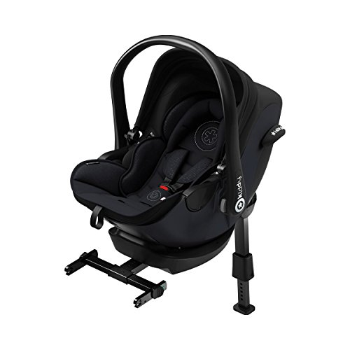 Preisvergleich Produktbild kiddy 41940EL060 Kindersitz I-Size inklusive Isofix Base 2 Onyx Black