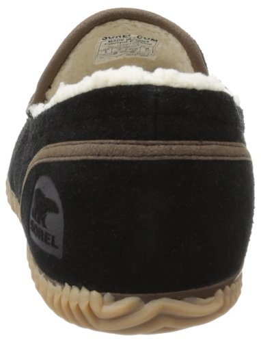 Sorel Dude, Mocassins Homme Noir (Black 010)