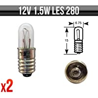 Indicator /& Panel Bulbs P208 Pack of 5 12v 5w MES E10 Dashboard