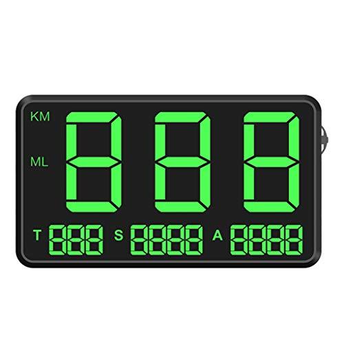 Hengzi Universal Auto GPS Tachometer HUD MPH/KM/h USB Plug & Play Übergeschwindigkeitswarnung