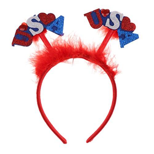 P Prettyia Stirnband USA America Haarband Kostüm Cosplay -